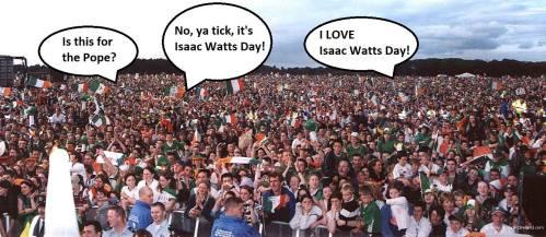 Isaac Watts Day 2018